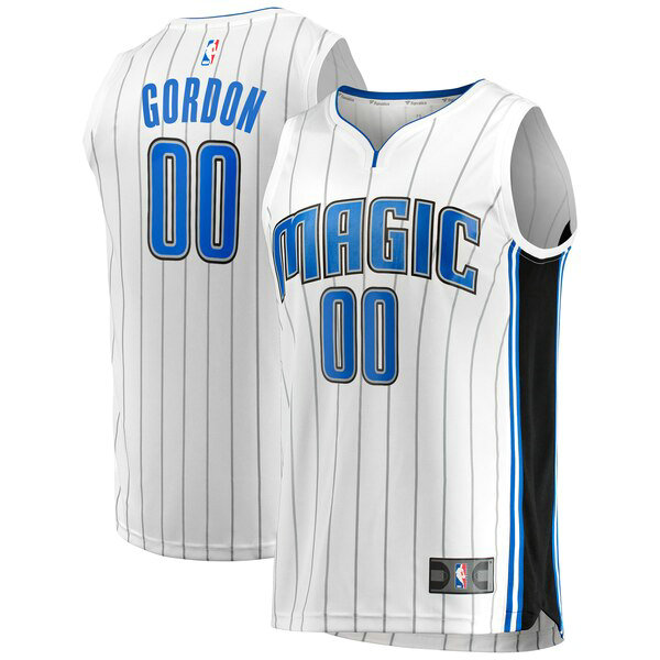 Camiseta baloncesto Aaron Gordon 0 Association Edition Blanco Orlando Magic Hombre
