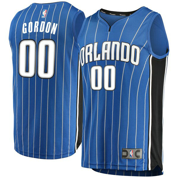 Camiseta baloncesto Aaron Gordon 0 Icon Edition Azul Orlando Magic Hombre