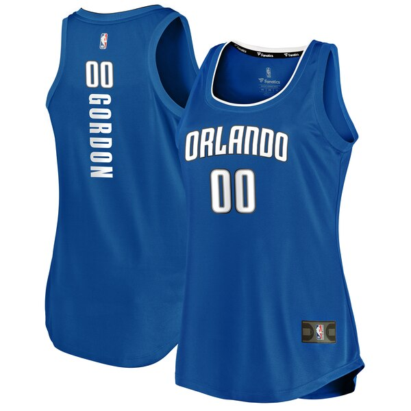 Camiseta baloncesto Aaron Gordon 0 icon edition Azul Orlando Magic Mujer