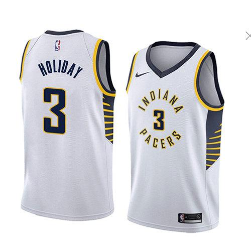 Jersey de Baloncesto de Warren para Hombre Azul Indiana Pacers # 1 2021 New Temporada Jerseys de Baloncesto Chalecos de Mangas Impresos cl/ásicos S-XXL T.j