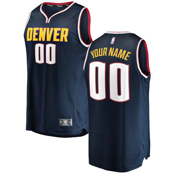 Camiseta baloncesto Custom 0 2018-2019 Icon Edition Armada Denver Nuggets Hombre