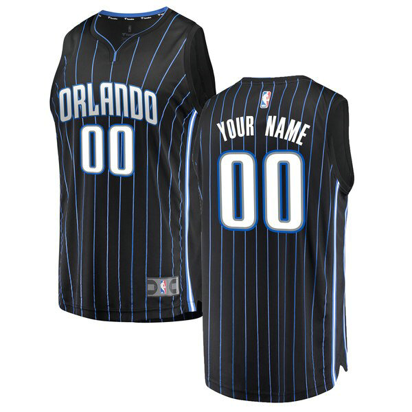Camiseta baloncesto Custom 0 Statement Edition Negro Orlando Magic Nino
