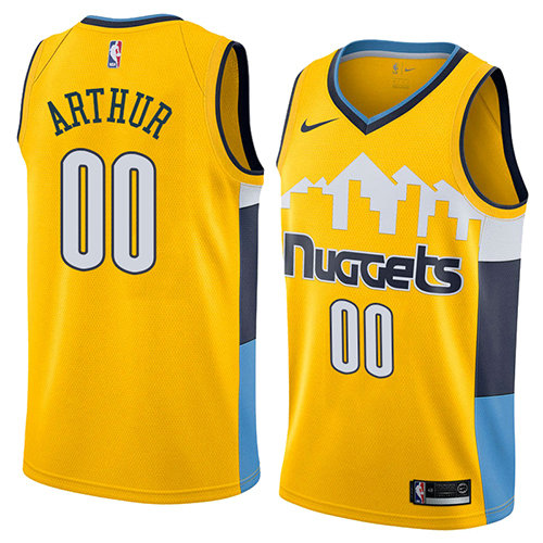 Camiseta baloncesto Darrell Arthur 0 Statement 2018 Amarillo Denver Nuggets Hombre