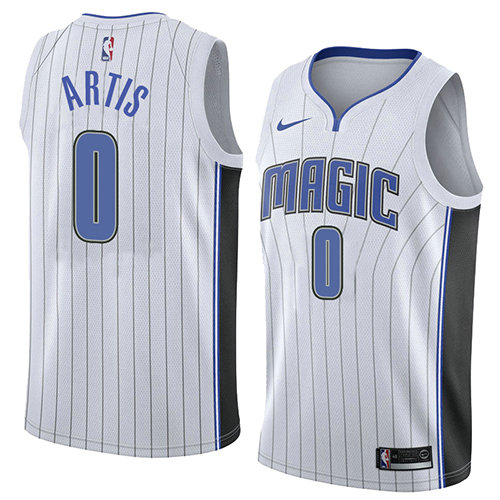 Camiseta baloncesto Jamel Artis 0 Association 2018 Blanco Orlando Magic Hombre