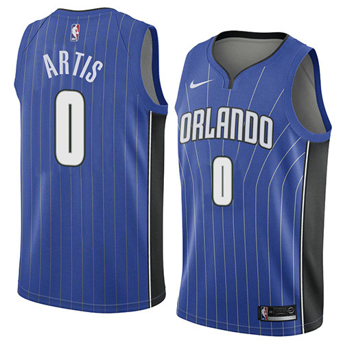 Camiseta baloncesto Jamel Artis 0 Icon 2018 Azul Orlando Magic Hombre