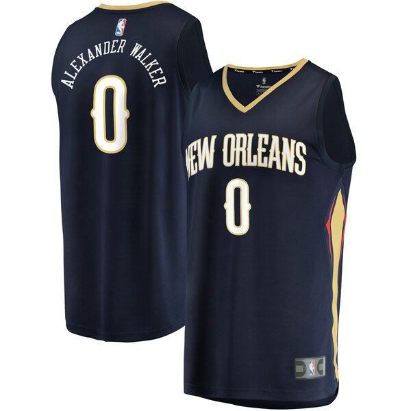 Camiseta baloncesto Nickeil Alexander-Walker 0 Icon Edition Armada New Orleans Pelicans Hombre