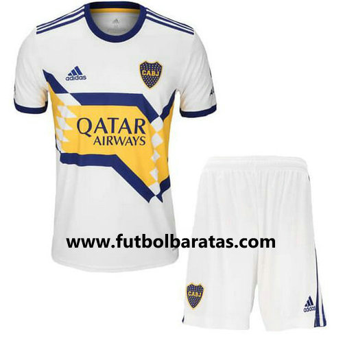 Camiseta Nino Boca Juniors 2020-2021 Seconda Equipacion