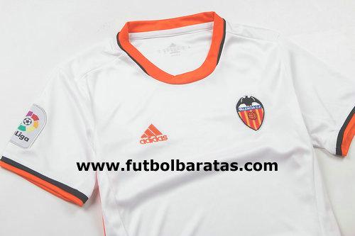 Camiseta Nino Valencia 2017 Primera Equipacion 836d57f363707