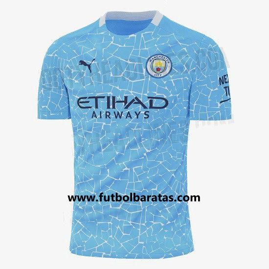 Camiseta del Manchester City 2020-2021 Primera Equipacion
