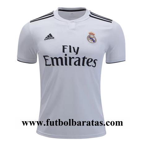 Camiseta Real Madrid 2018-2019 replica baratas cbfc429c20bbc