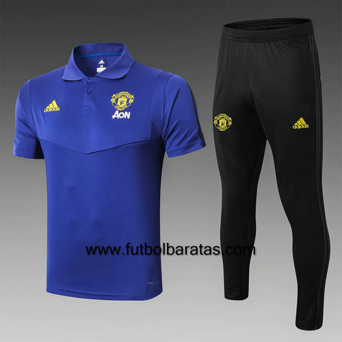Polo Chandel Manchester United 2019-2020 Azul