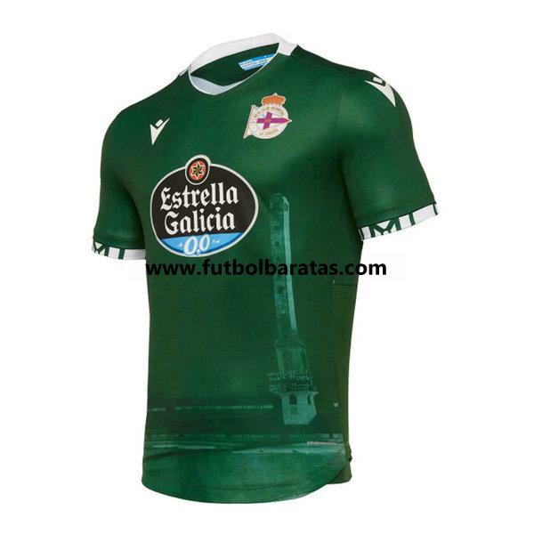 Tailandia Camiseta del Deportivo La Coruna 2019-2020 Segunda Equipacion