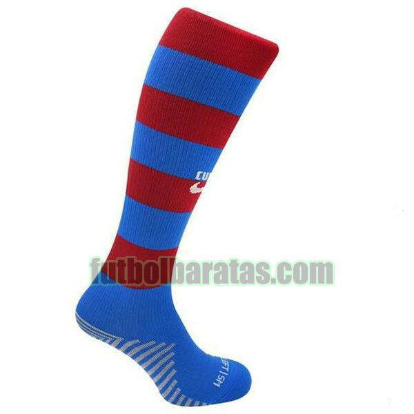calcetines barcelona 2021 2022 rojo azul primera