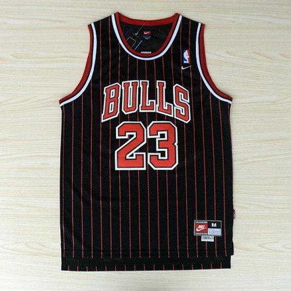 dinastía Comparación peso  camiseta Michael Jordan 23 chicago bulls retro tira