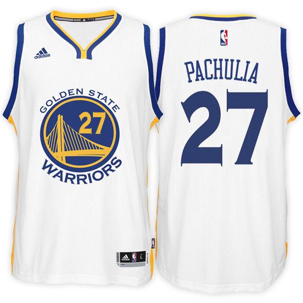 3379e74aa755f camiseta Pachulia Número 27 golden state warriors 2016-2017 Blanc