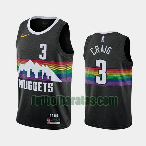 camiseta city edition 2020 torrey craig 3 denver nuggets negro hombro