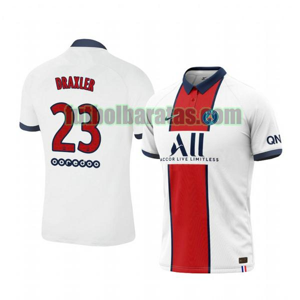 camiseta julian draxler 23 camiseta paris saint germain 2020-2021 segunda