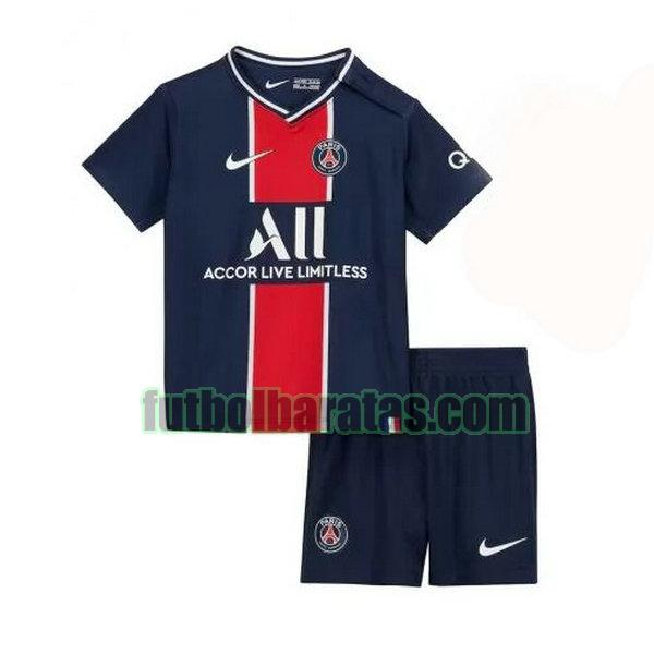 camiseta niño paris saint germain 2020-2021 primera