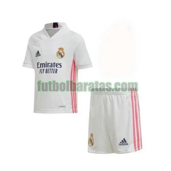 camiseta niño real madrid 2020-2021 primera