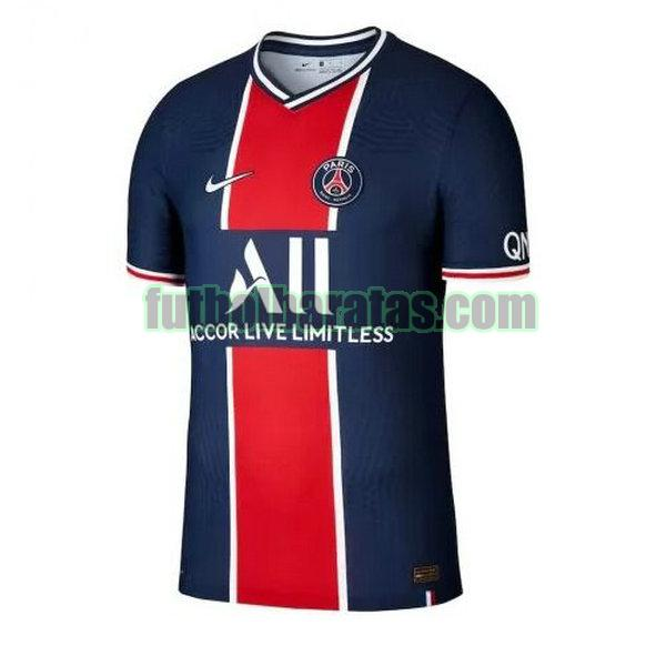camiseta paris saint germain 2020-2021 primera equipacion