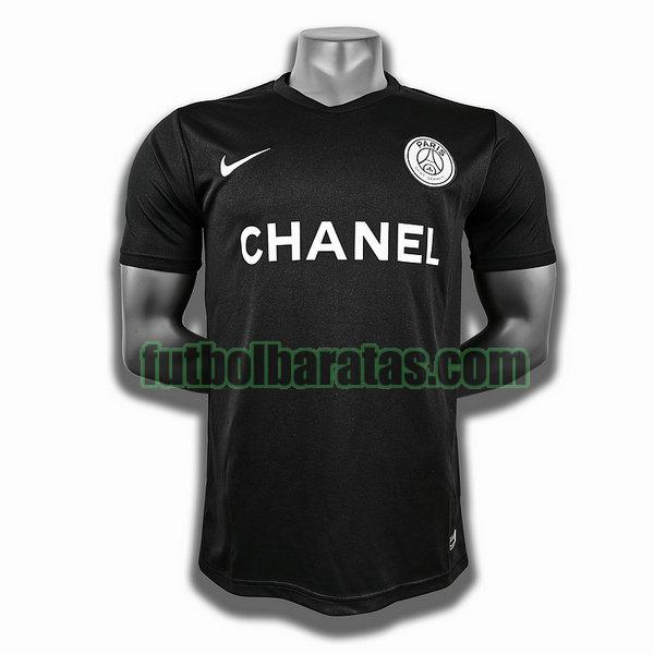 camiseta paris saint germain negro training player