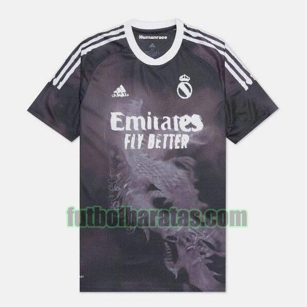 camiseta real madrid 2020-2021 negro adidas design