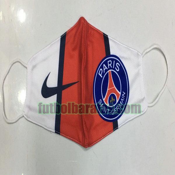 máscara paris saint germain 2020-2021 rojo