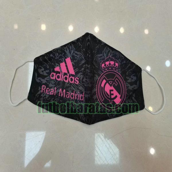 máscara real madrid 2020-2021 black pink