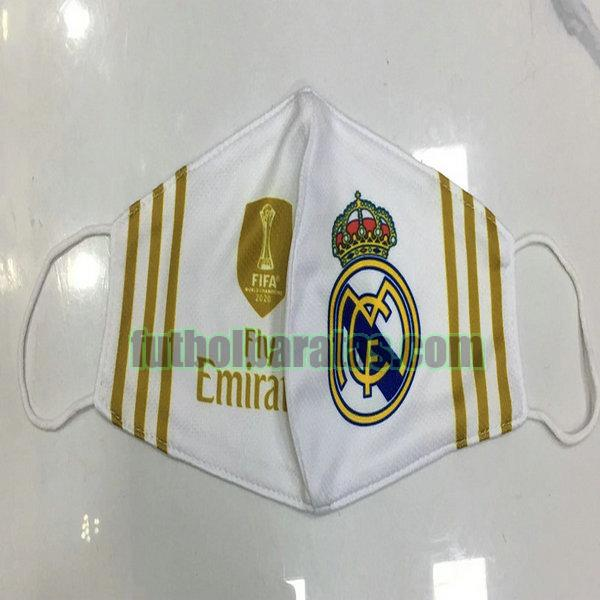 máscara real madrid 2020-2021 blanco