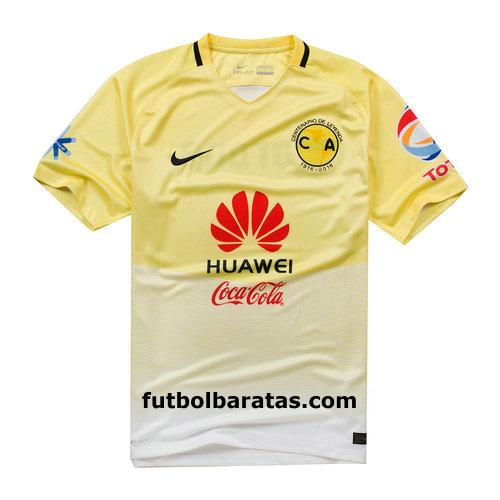 17ec42562 Nike del Club América de México para unirse a las manos para lanzar la  temporada 2016-17, nueva camiseta de local del equipo, con la tecnología  Nike Dri-FIT ...