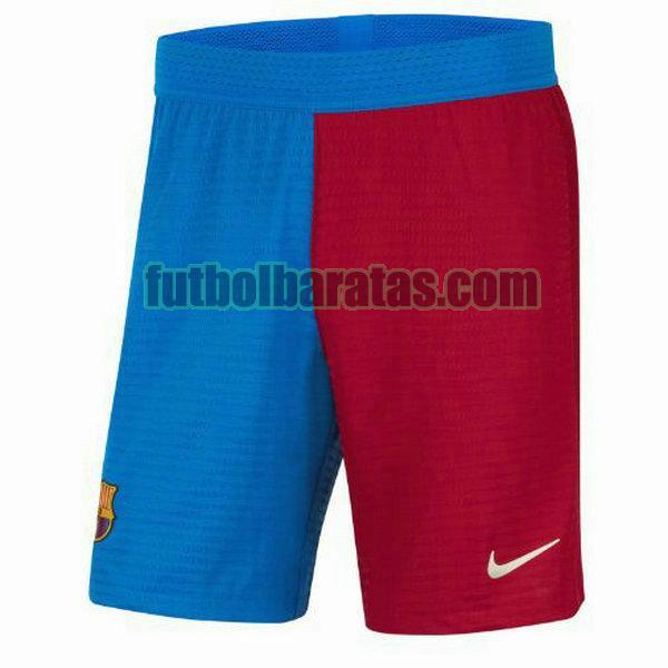 pantalones cortos barcelona 2021 2022 rojo azul primera