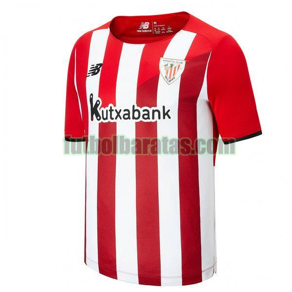 tailandia camiseta athletic bilbao 2021 2022 rojo blanco primera