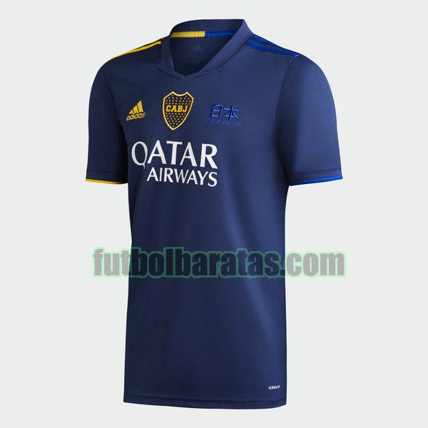 tailandia camiseta boca juniors 2020-2021 azul fourth