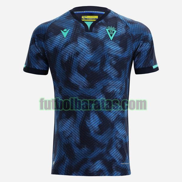 tailandia camiseta cádiz club 2021 2022 azul segunda